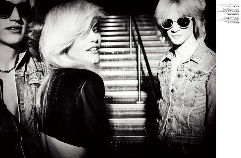 Ashley Smith by Ellen von Unwerth for Vogue Turkey