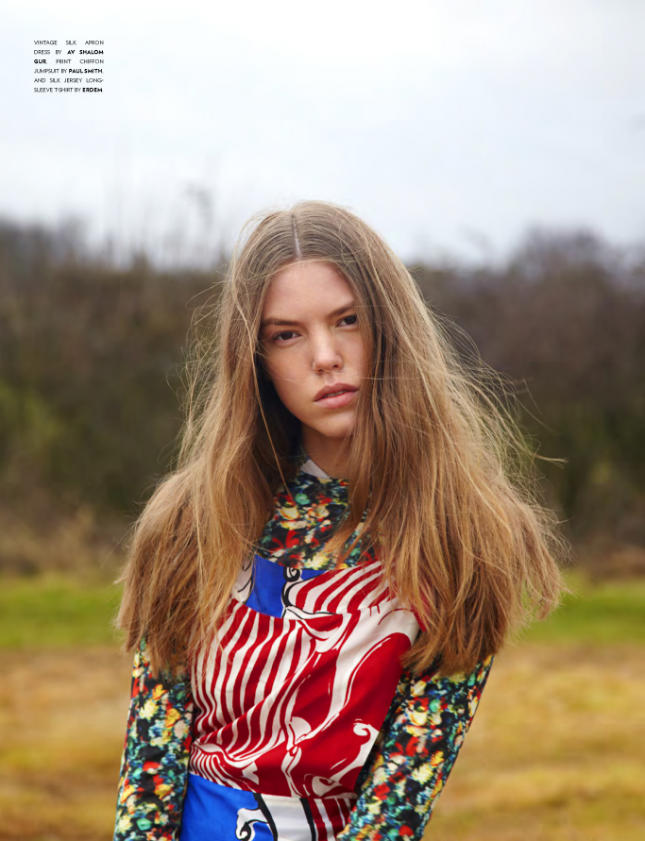 Josefien Rodermans by Thomas Giddings for FLAUNT