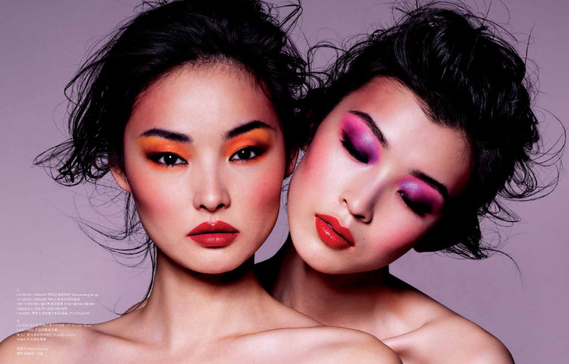 Miao Bin Si & Ma Jing by Stockton Johnson for ROUGE Spring 2011