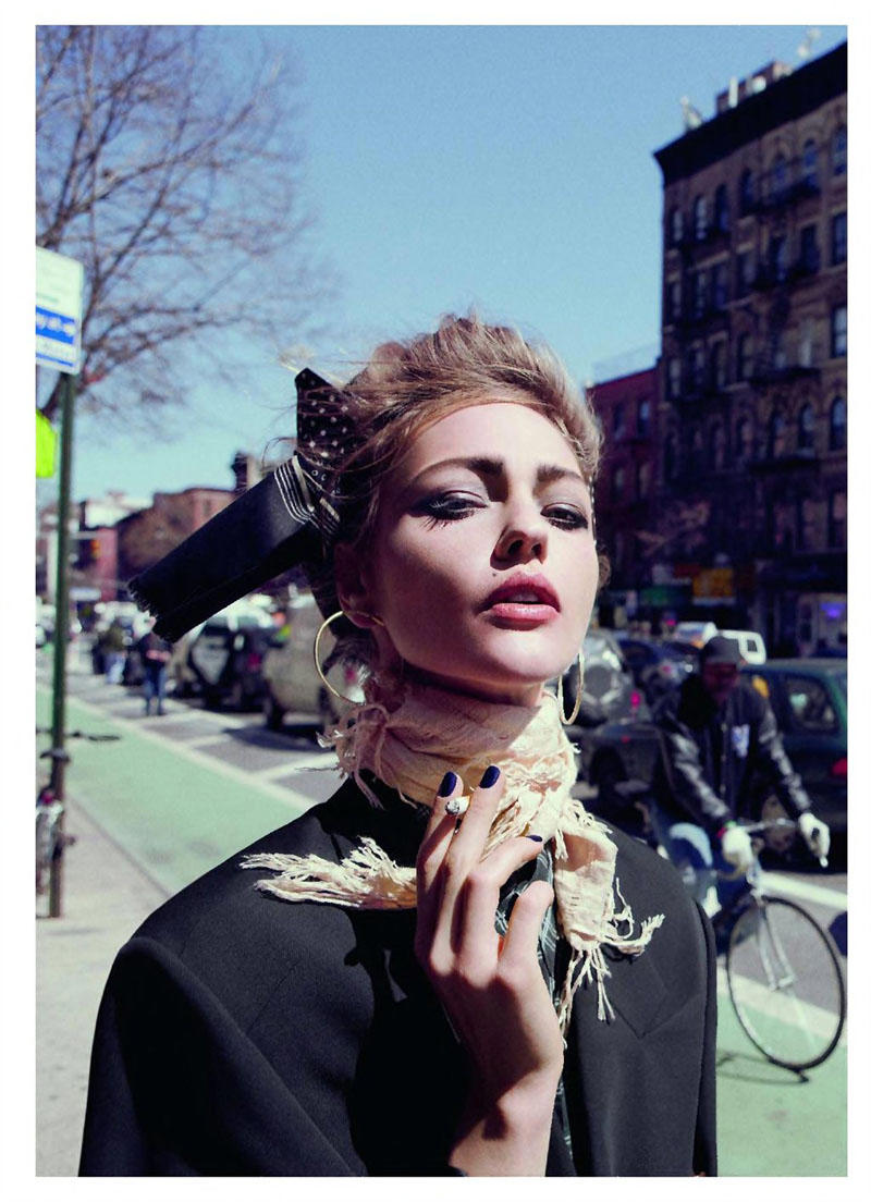 Sasha Pivovarova by Inez & Vinoodh for Vogue Paris June/July 2011