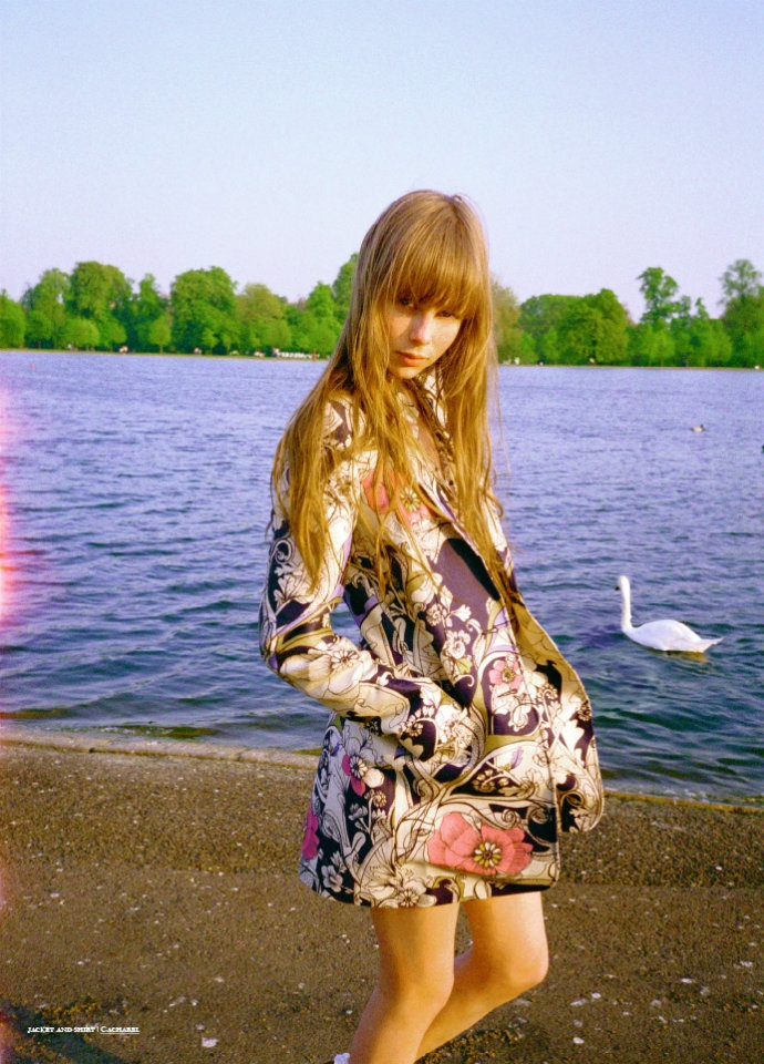 Edie Campbell by Viktor Vauthier for Tank Summer 2011