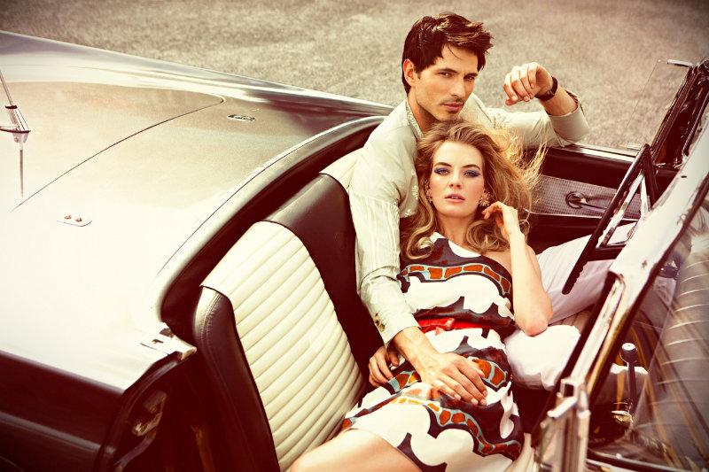 Julia Dunstall by Alexander Neumann for Vogue Hombre S/S 2011
