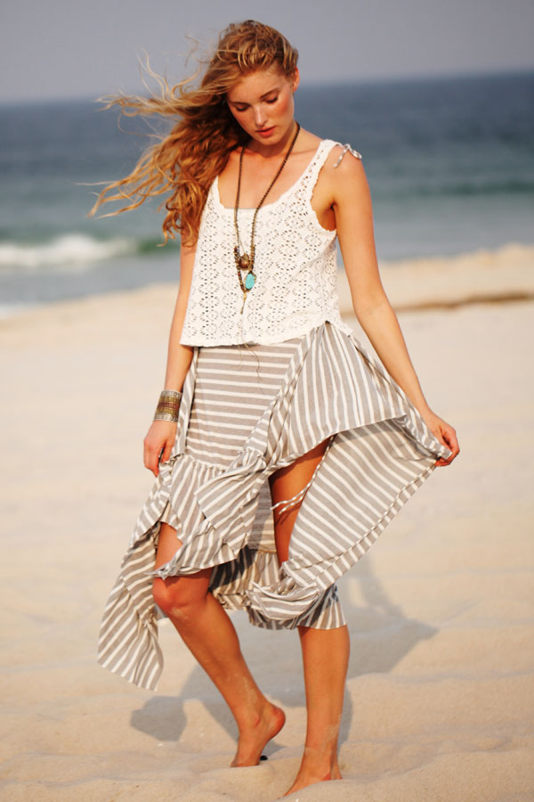 "Elsa Hosk for Free People ""Ode to Summer"" Lookbook"