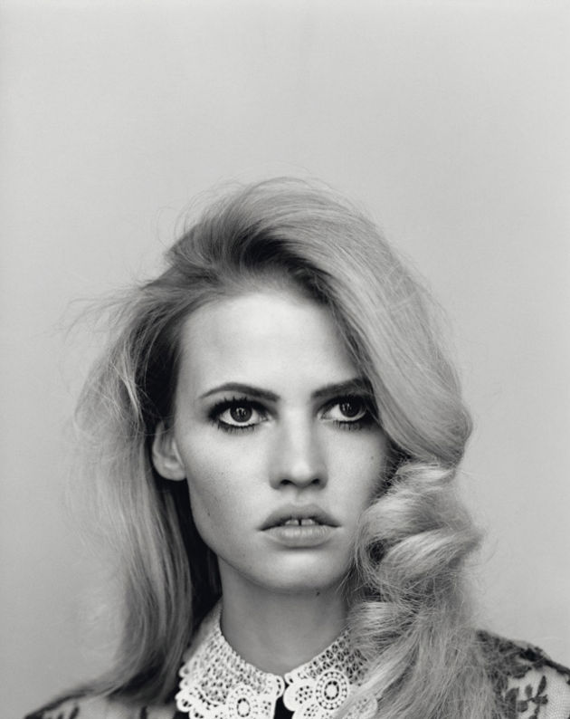Lara Stone by Alasdair McLellan for Self Service S/S 2011