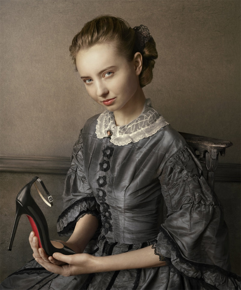 Christian Louboutin Fall 2011 Lookbook by Peter Lippmann