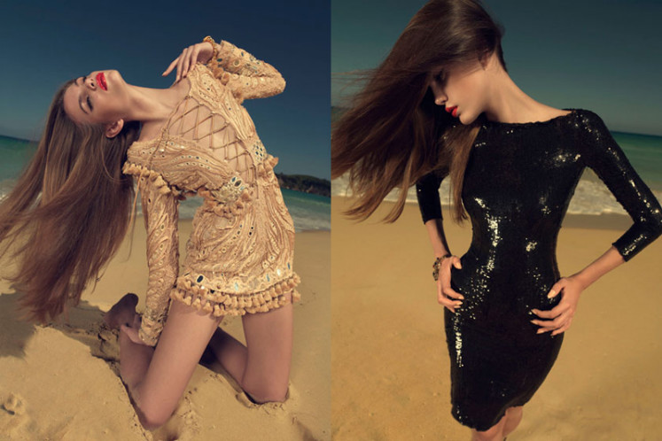 Regina Feoktistova by Xevi Muntané for Harper's Bazaar Spain