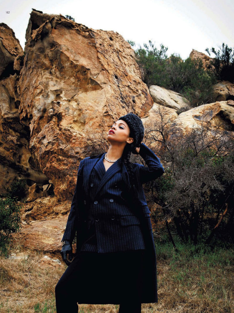Zoe Saldana for Harper's Bazaar Russia July/August 2011 by Bleacher & Everard