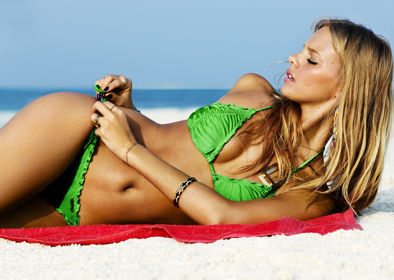 Marloes Horst for Seafolly Campaign