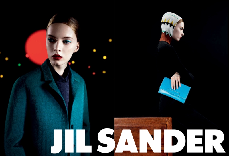 Jil Sander Fall 2011 Campaign | Daria Strokous by Willy Vanderperre
