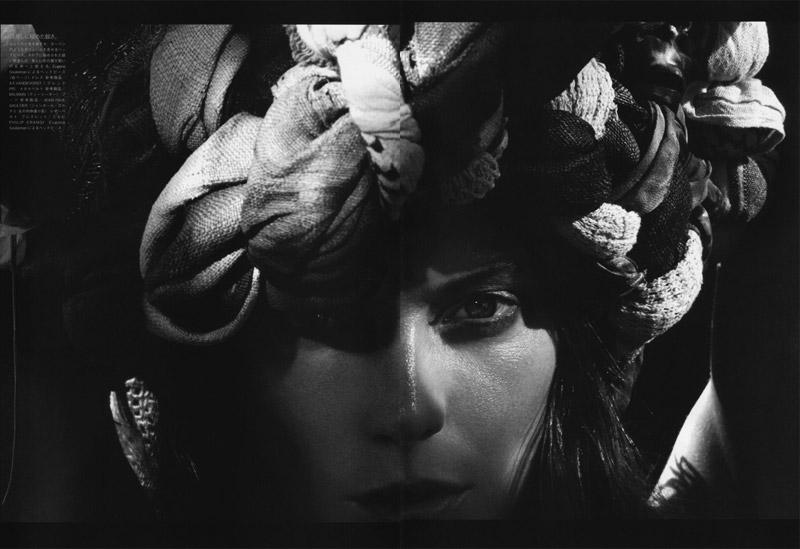 Daria Werbowy by Mikael Jansson | Vogue Nippon