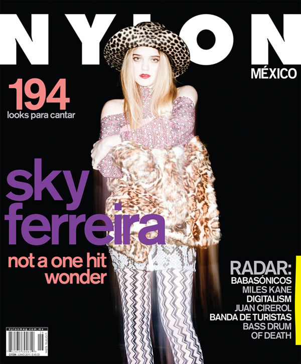 Sky Ferreira by Justin Hollar for Nylon Mexico