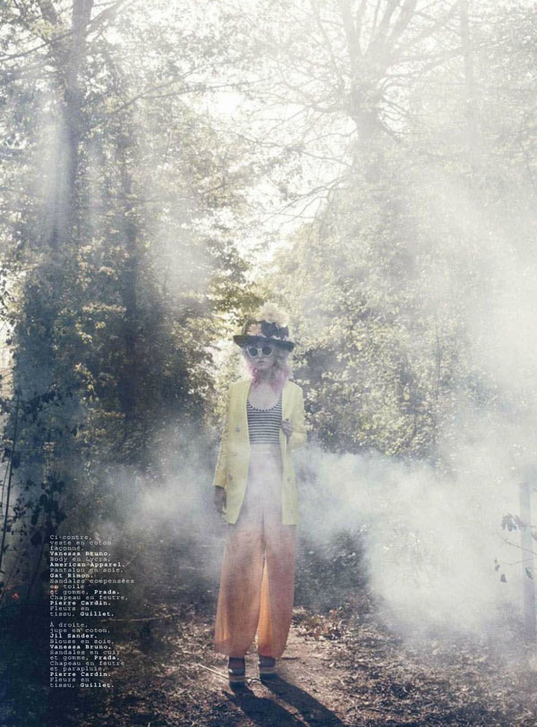 Charlotte Free by Paul Schmidt for Jalouse June/July 2011