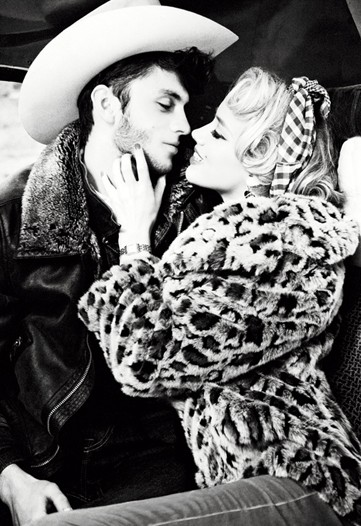 Guess Fall 2011 Campaign Preview | Amber Heard by Ellen von Unwerth