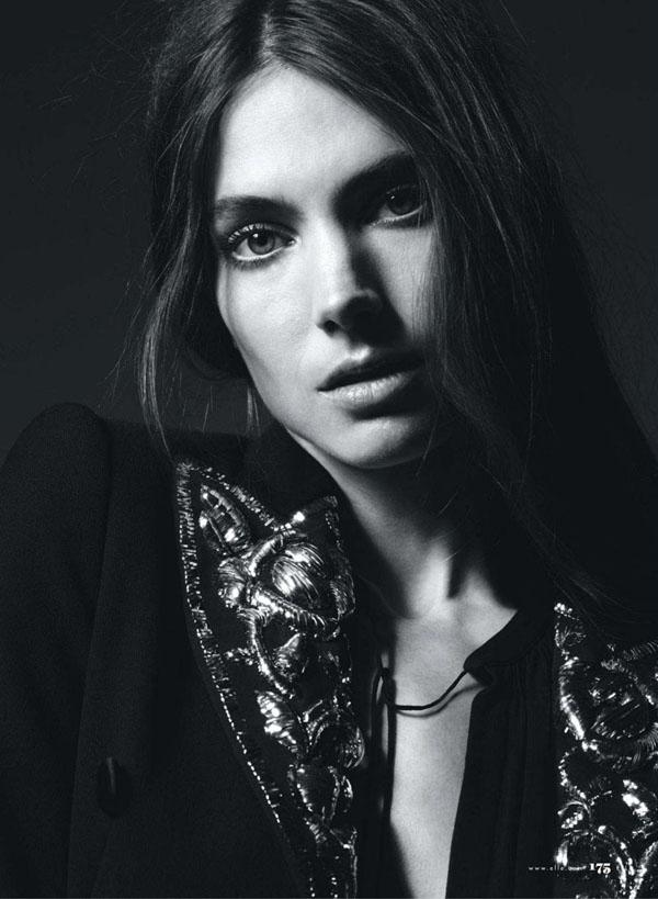 Jessica Miller by Liz Collins for Elle US July 2011