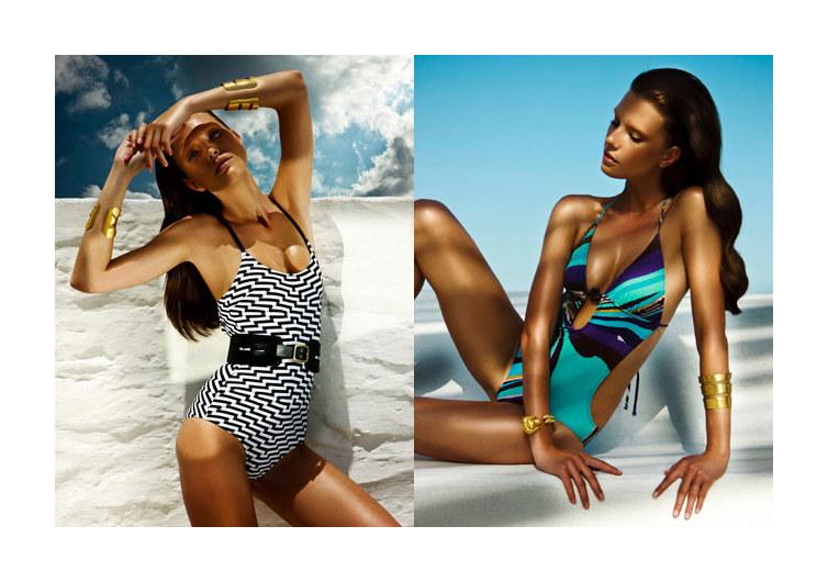 Valeriya Melnik by Thanassis Krikis for Vogue Hellas July 2011