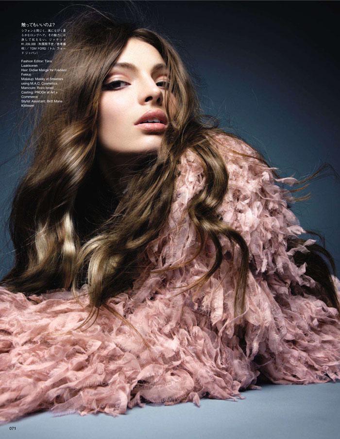 Carola Remer by Raymond Meier for Vogue Japan July 2011