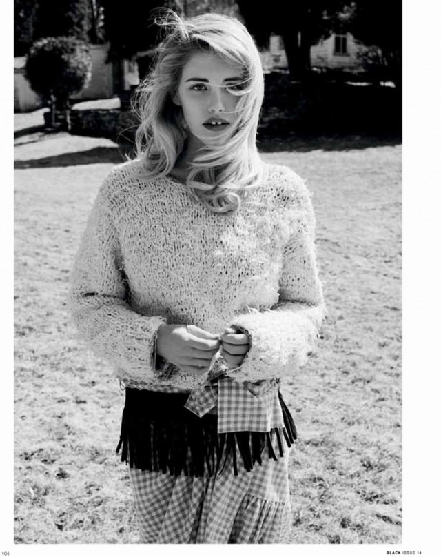 Ashley Smith by Derek Kettela for Black Magazine #14