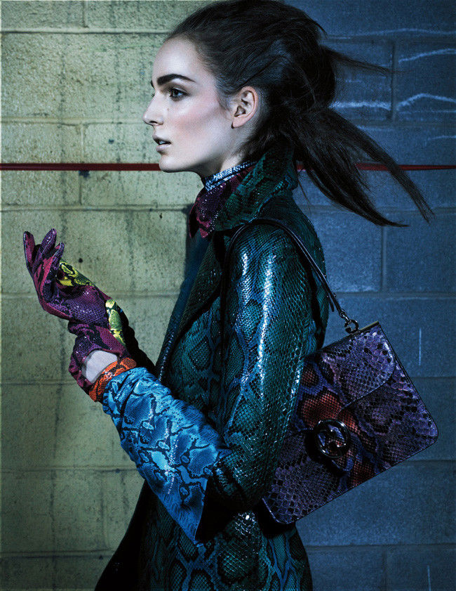 Zuzanna Bijoch by Craig McDean for Interview June/July 2011