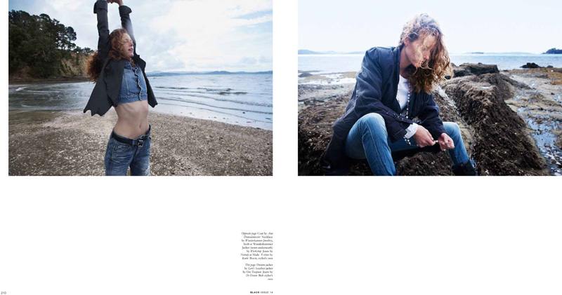 Taren Cunningham by David K. Shields for Black Magazine #14