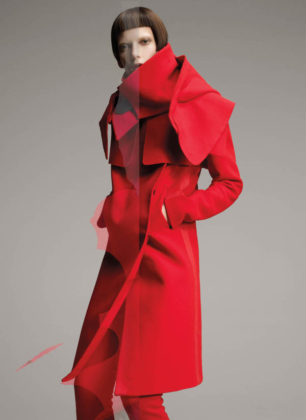 Costume National Fall 2011 Campaign | Valerija Kelava by Glen Luchford