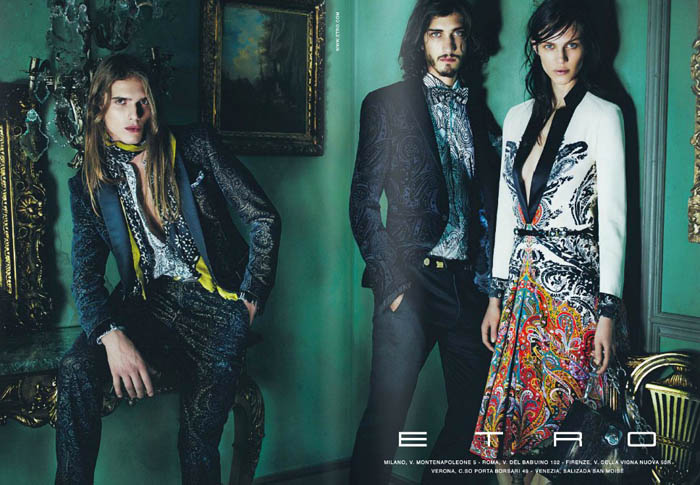 Etro Fall 2011 Campaign Preview | Aymeline Valade by Mario Testino