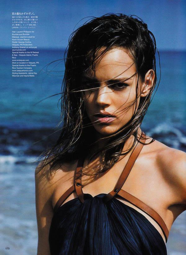 Freja Beha Erichsen by Alasdair McLellan for Vogue Japan July 2011