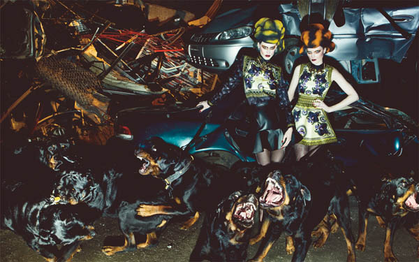 Givenchy in Interview June/July 2011 by Steven Klein