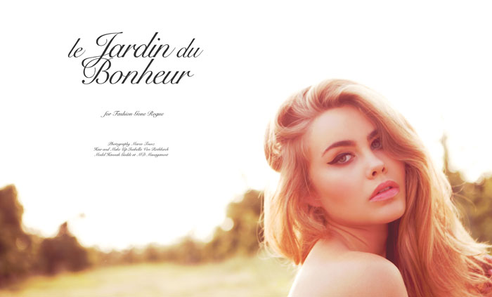 Hannah Godde by Marco Trunz for Fashion Gone Rogue