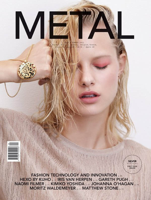 Metal #24 Cover | Hannah Holman by Eric Guillemain