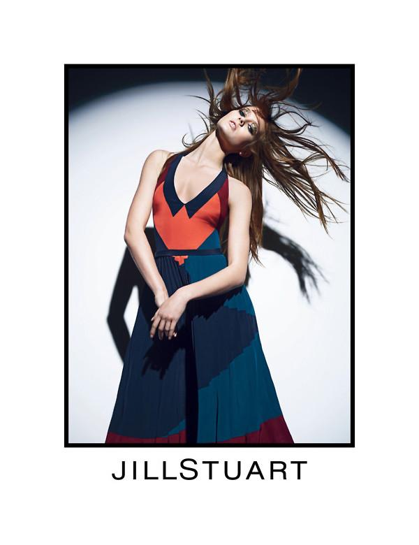 Jac Jagaciak for Jill Stuart Fall 2011 Campaign by Mario Sorrenti