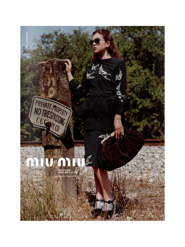 Miu Miu Fall 2011 Campaign Preview | Hailee Steinfeld by Bruce Weber