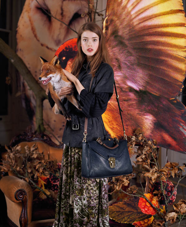 Mulberry Fall 2011 Campaign Preview   Tati & Julia by Tim Walker