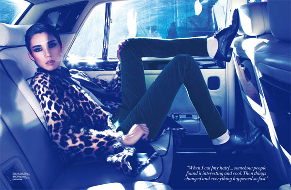 Tao Okamoto for Harper's Bazaar Singapore July 2011 by Gan