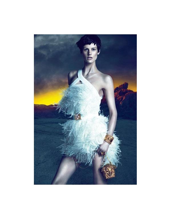 Versace Fall 2011 Campaign Preview | Saskia de Brauw by Mert & Marcus