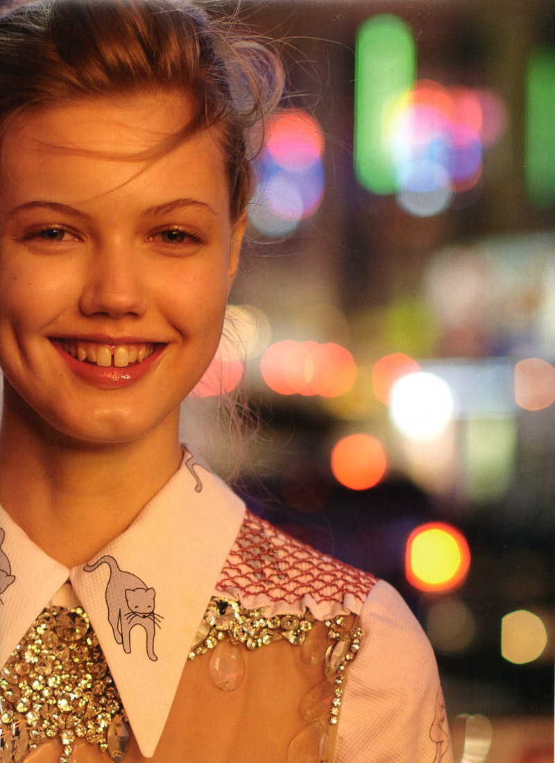 Lindsey Wixson by Paul Graham   POP Spring 2010