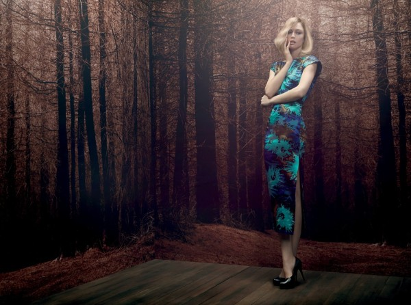Raquel Zimmermann for A. Brand Fall 2011 Campaign by Henrique Gendre