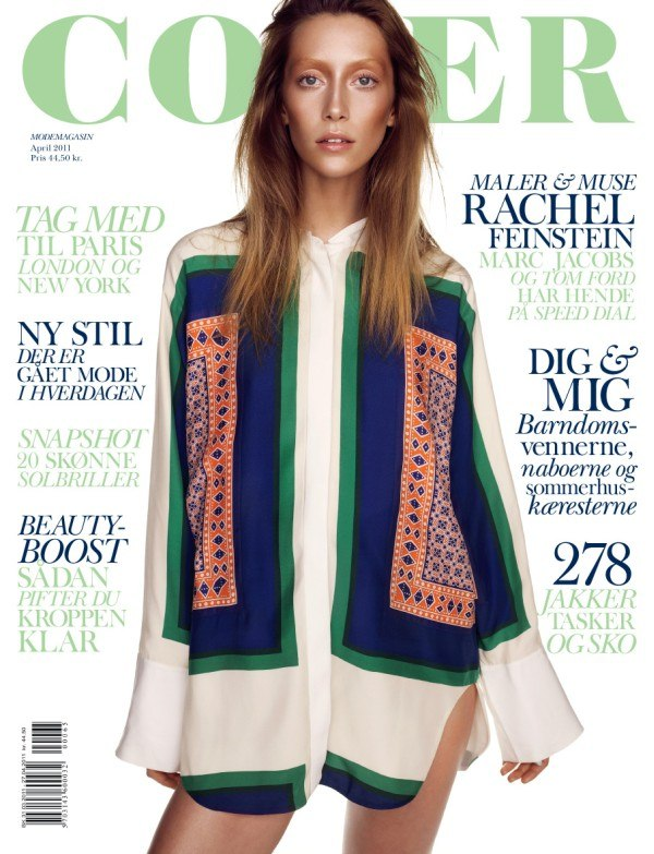Cover Magazine April 2011 Cover | Alana Zimmer by Hasse Nielsen