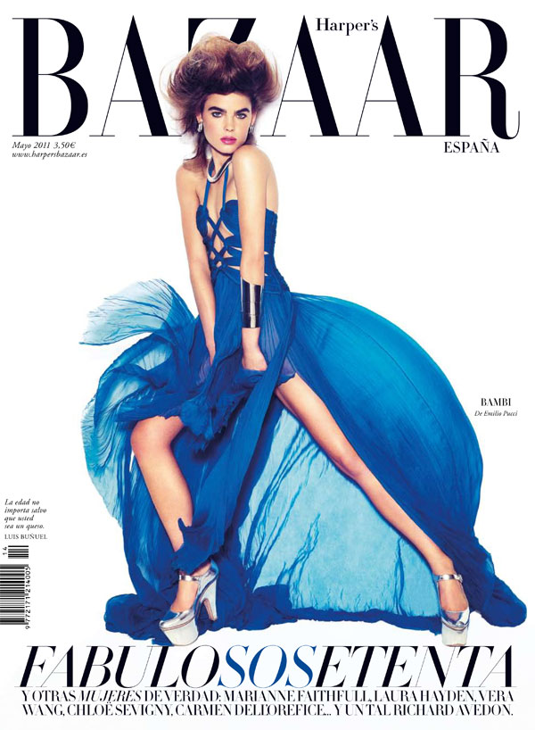Bambi Northwood-Blyth for Harper's Bazaar Spain May 2011 (Cover)