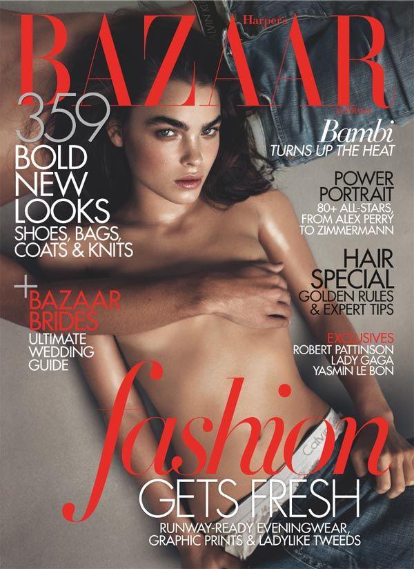 Harper's Bazaar Australia June/July 2011 Cover | Bambi Northwood-Blyth by Lachlan Bailey