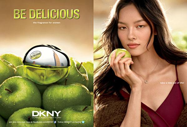 DKNY Be Delicious 2011 Campaign | Chanel Iman & Fei Fei Sun by Regan Cameron