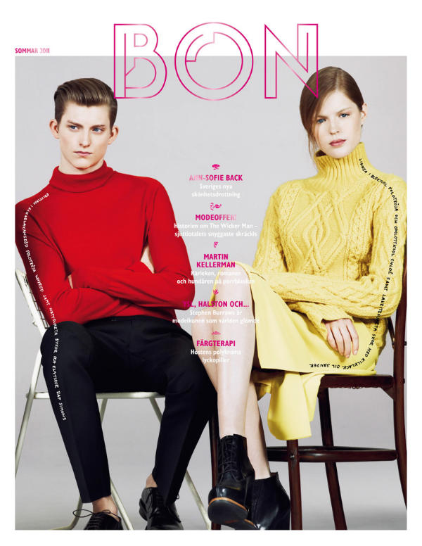 Bon Magazine Summer 2011 Covers by Ben Weller