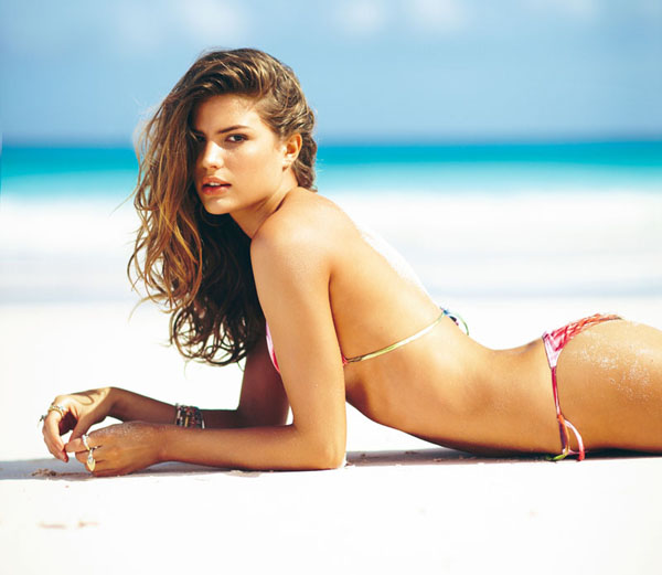 Cameron Russell for Calzedonia Spring 2011 Campaign by Russell James