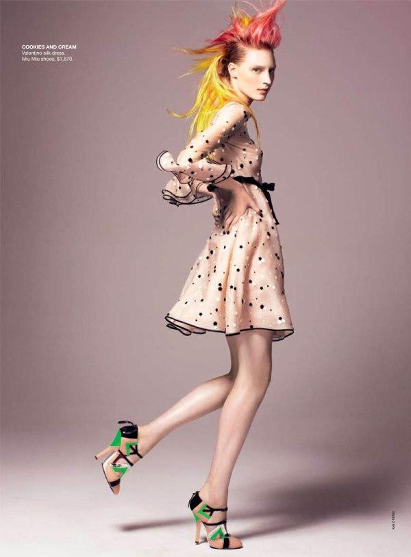 Julia Nobis for Vogue Australia May 2011 by Kai Z Feng