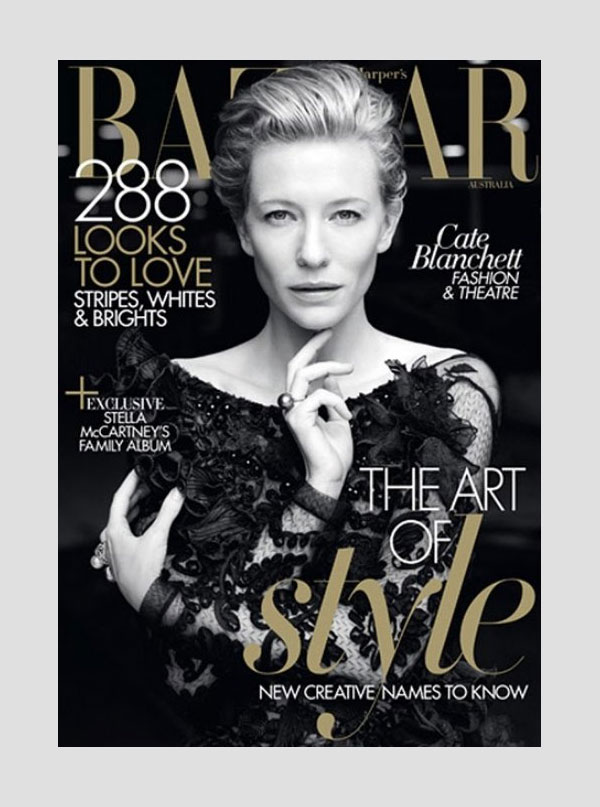 Cate Blanchett for Harper's Bazaar Australia May 2011 (Cover)