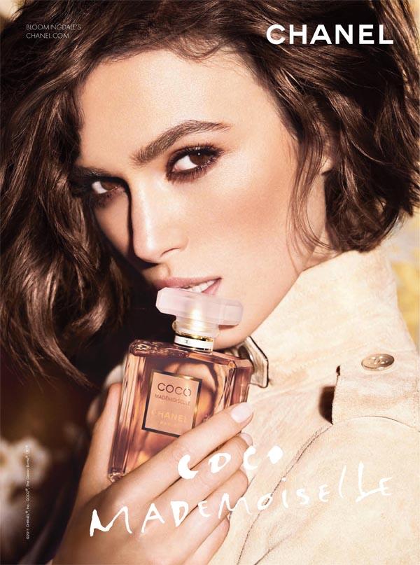 Keira Knightley for Chanel Coco Mademoiselle Campaign by Mario Testino