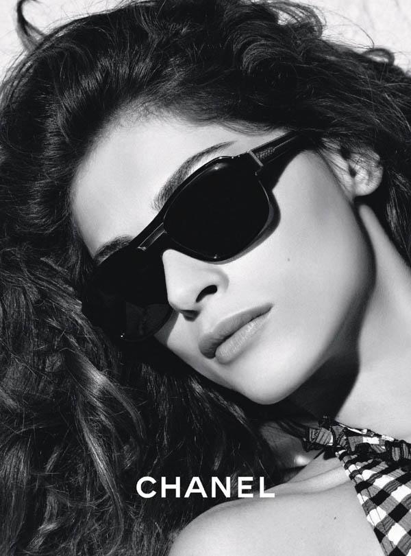 Chanel Eyewear Spring 2011 Campaign | Elisa Sednaoui by Karl Lagerfeld