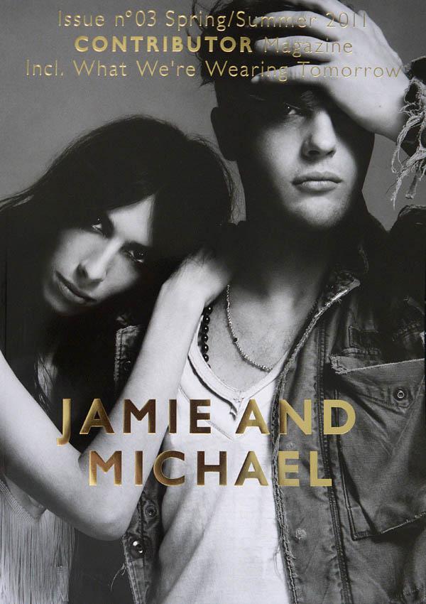 Contributor #3 Cover | Jamie Bochert & Michael Pitt by Yu Tsai