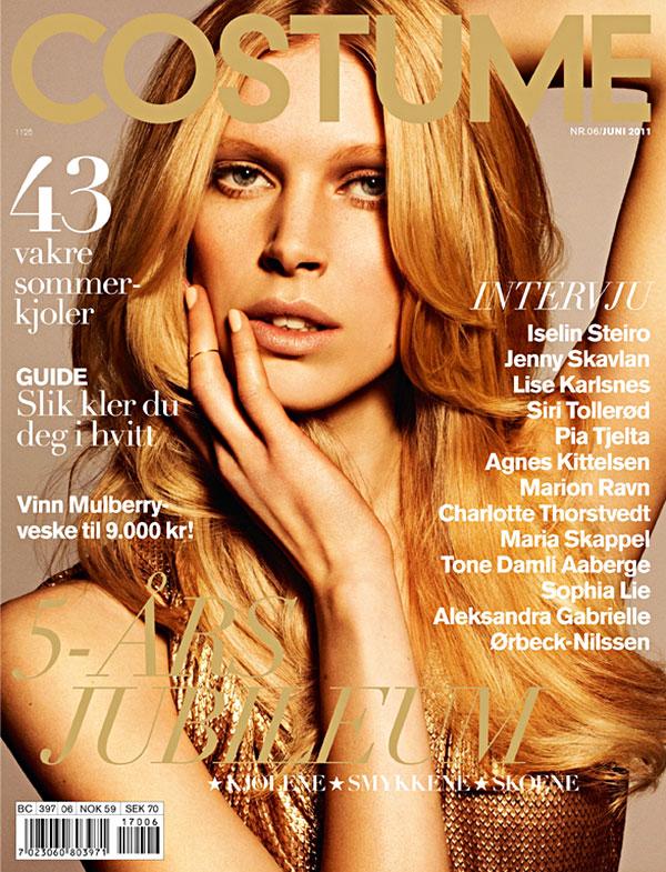Costume Norway June 2011 Cover | Islein Steiro by Jørgen Gomnæs