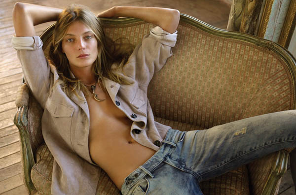 Daria Werbowy for FASHION May 2011 by Alex Cayley
