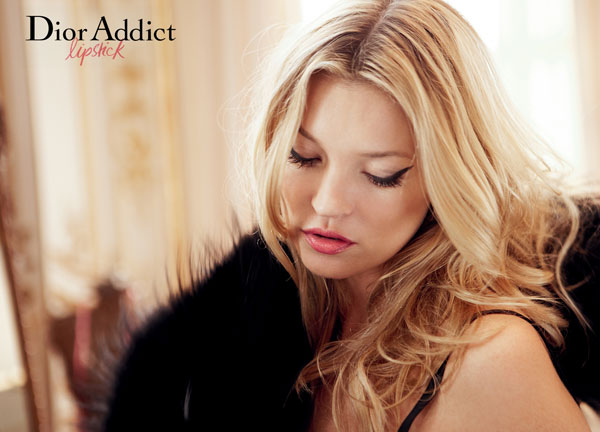 Kate Moss for Dior Addict Campaign by David Sims